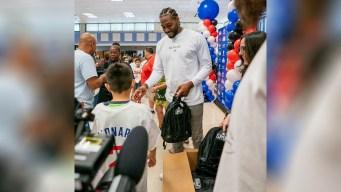 Clippers, Kawhi Leonard Announce Donation of 1 Million Backpacks