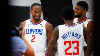 Media Day: Kawhi and Paul George Quickly Blending in With Clippers