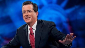 Colbert Cheers on GOP Slugfest's Negative Turn