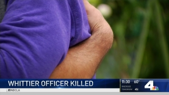 Community Mourns Loss of Whittier Police Officer