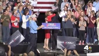 Cruz Names Fiorina as Running Mate