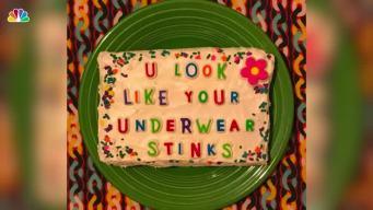 NYC Bakery Sends Internet Trolls' Hate Back on Cakes