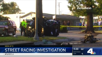 Deadly Street Racing Crash Wraps Car Around Tree