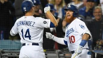 Grand Slam, Kershaw Highlight Dodgers' 9-0 Win Over Giants