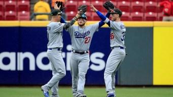 Ryu Extends Scoreless Streak to 31 Innings as Dodgers Crush Reds