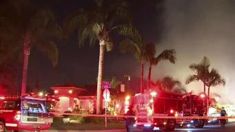 Downey Blaze Leaves Two in Critical Condition