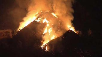 Dozens of Homes Forced to Evacuate Amid Monrovia Brush Fire
