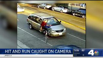 Driver Sought in Crash With Bicyclist