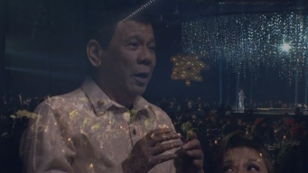 Duterte Sings a Love Song for Trump at a Gala in the Philippines