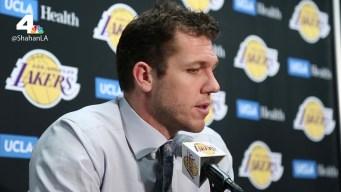 Lakers Coach Cracks Joke About LaVar Ball
