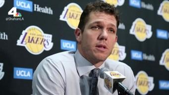 Lakers Beat Hawks 132-113, Snap Losing Streak
