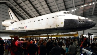 Go Inside Space Shuttle Endeavour