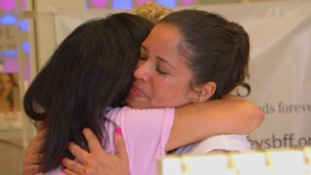 Breast Cancer Survivor is 'Breast Friend Forever' for Others