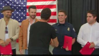 Everyday Heroes Honored for Saving Friend's Life