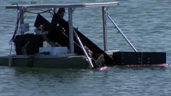 Robot Designed to Clean Ocean Tested in San Diego