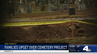 Families Upset Over Temporary Cemetery Closure