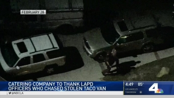 Family Thanks Officers for Returning Taco Truck in Chase