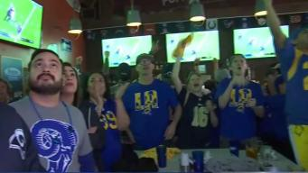 Fans Gear Up After Rams Advance to Super Bowl