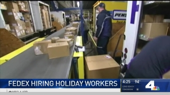 FedEx Looking to Hire Thousands of Holiday Workers