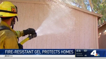 Fire-Resistant Gel Protects Homes