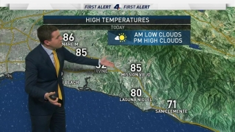 First Alert Forecast: Feeling a Slight Cooldown