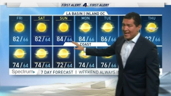 First Alert Forecast: You'll Like This Weekend Forecast