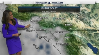 First Alert Forecast: A Chance of Rain