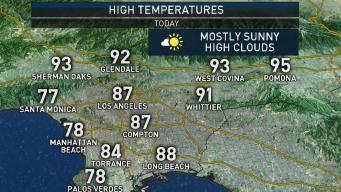 First Alert Forecast: Warm Day Ahead