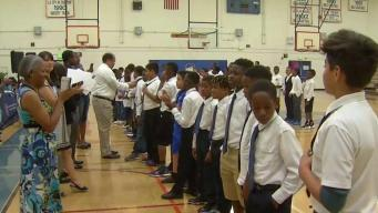 LAUSD's First All-Boys School Ready for First Day of Class