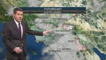AM Forecast: Pop-Up Showers on Sunday