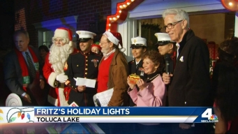 Fritz's Holiday Lights: Toluca Lake