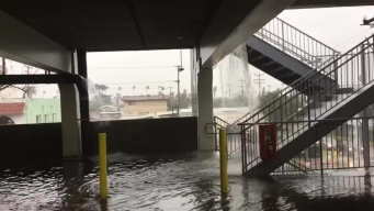 Glendale Galleria Parking Flooding