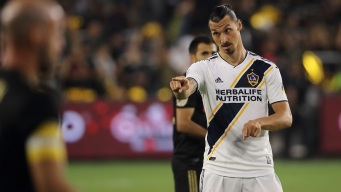 Zlatan Ibrahimovic Has Hat Trick, Galaxy Routs Sporting 7-2