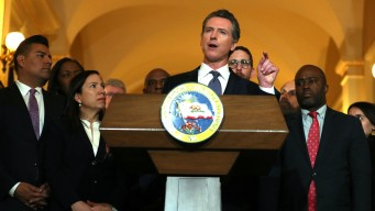 'How Dare They': Gov. Newsom Talks Abortion Restrictions During Health Care Tour
