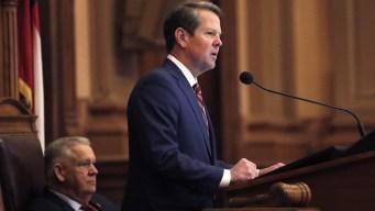 Georgia's Republican Gov. Signs Fetal Heartbeat Abortion Ban