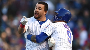 Schwarber Restrained by Teammates After Controversial Call