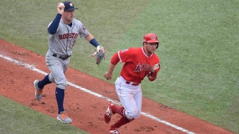 Grand Slam Launches Astros Past Angels in Mexico