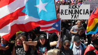 Fed Up Puerto Ricans Protest, Demanding Governor Resign