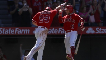 Rookie Thaiss Helps Angels Complete Sweep of Mariners