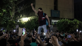 Rare Protests in Egypt Call for el-Sissi to Step Down