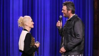 Shelton & Stefani Share the Love on 'The Voice'