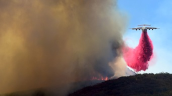 Firefighters Slow Sand Fire's Spread