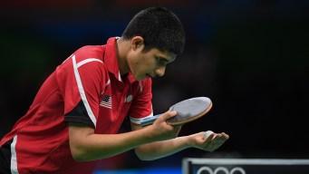 US Teen Loses in Olympic Table Tennis Debut