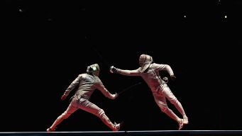 Men's Fencing: Daryl Homer Wins Silver Medal for US