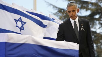 'Great Man': Obama, Clinton Pay Tribute to Shimon Peres