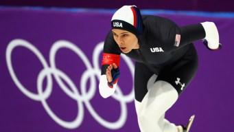 Speedskating: Men, Women Race for Team Pursuit Gold