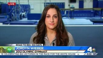 Gold Medalist Jordyn Wieber Discusses LA's 2024 Olympics Bid