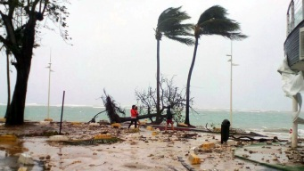 Hurricane Maria Closes in on Puerto Rico as Cat. 4