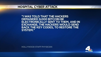 Hackers Attack Hollywood Hospital