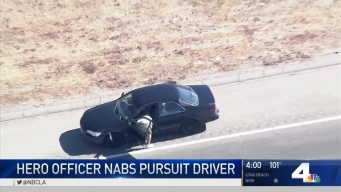 Hero Officer Nabs Pursuit Driver